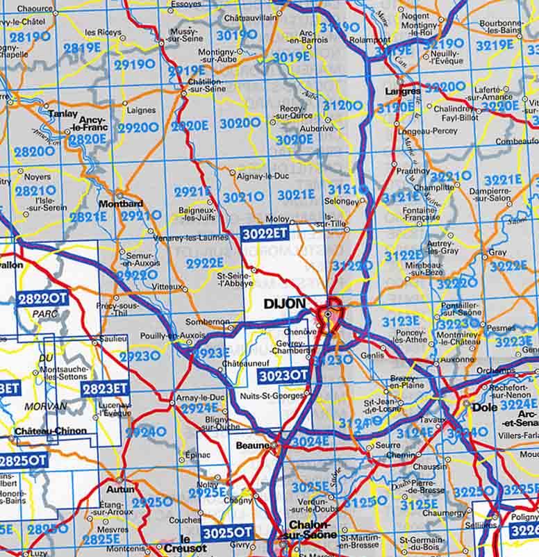 すべての講義 50000分の1 地図 : ... でフランスの地図を注文する